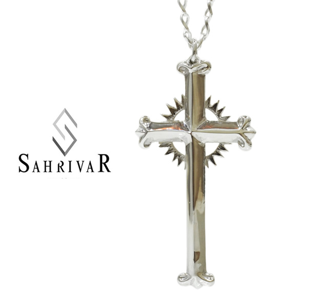 SAHRIVAR sn73s14a Helo Cross Necklace