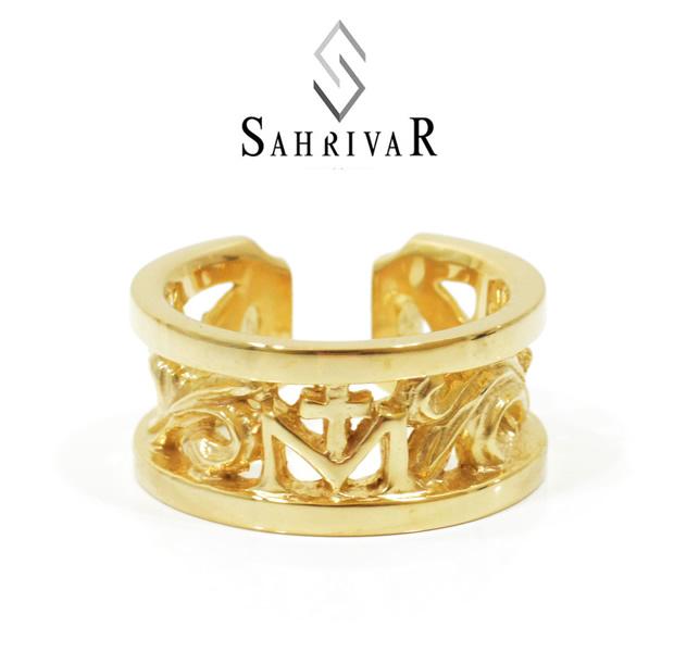 SAHRIVAR sr53b14a Classical Floral Ring