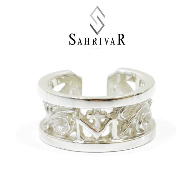SAHRIVAR sr52s14a Classical Floral Ring
