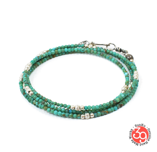 Sunku SK-109 Small Beads Long Necklace