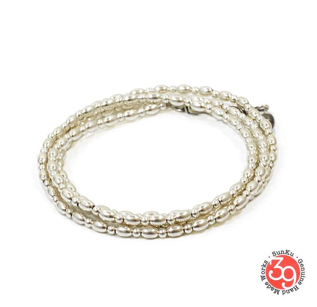 Sunku SK-111 Small Beads Long Necklace
