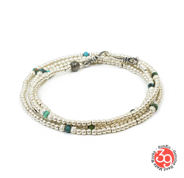 Sunku SK-112 Small Beads Long Necklace