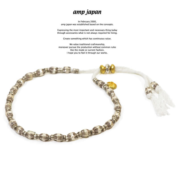 "amp japan  12ah-223 string bracelet ""bloom"""