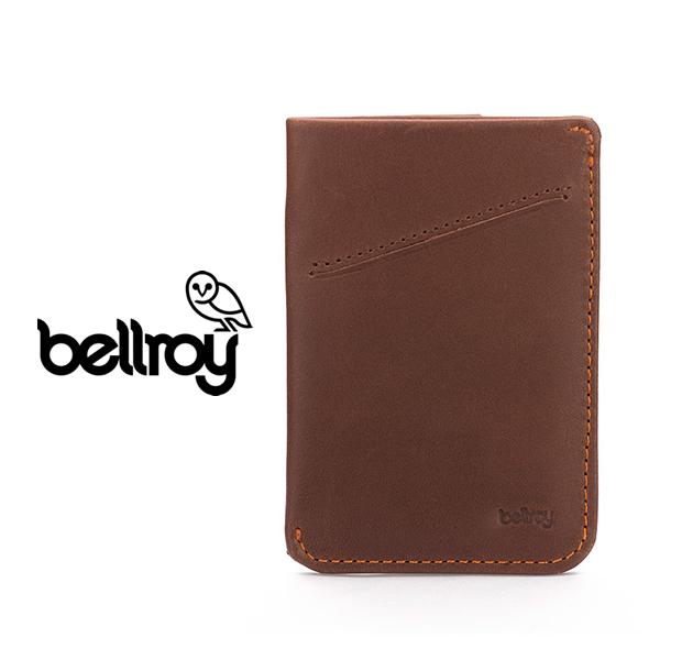 "Bellroy WCSA/COCOA  ""CARD SLEEVE WALLET"""