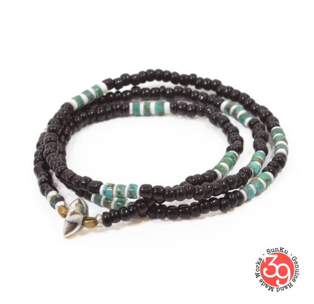 Sunku LTD-028 ANTIQUE BEADS NECKLACE & BRACELET