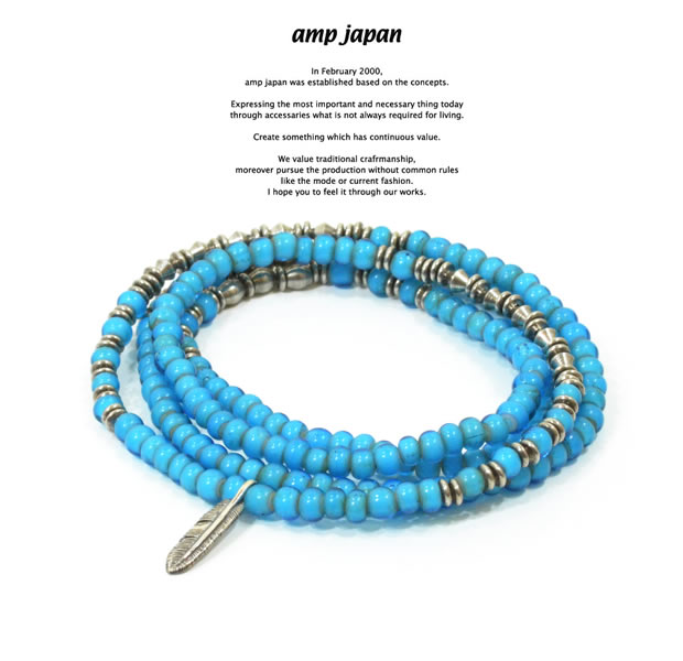 amp japan 15AHK-401BL Vintage White Hearts -Eagle-