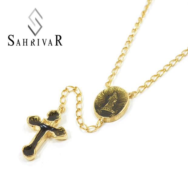 SAHRIVAR SN83B15S Enameled Rosary