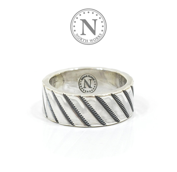 NORTH WORKS W-051 900Silver Stamp Ring