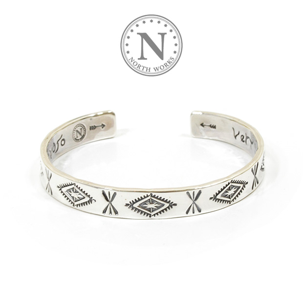 NORTH WORKS N-217 Inside Message Bangle TYPE  Navajo