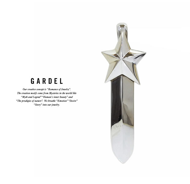 GARDEL GDP-111L MERCURY FEATHER PENDANT