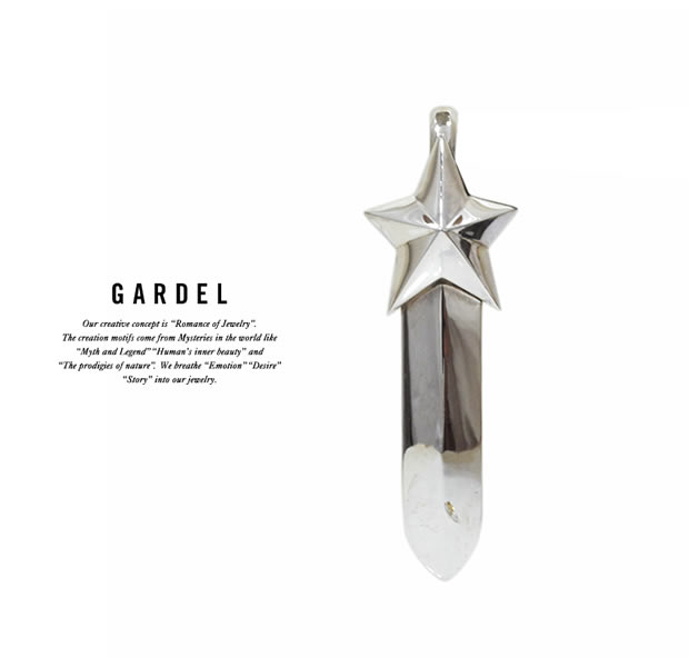 GARDEL GDP-111S MERCURY FEATHER PENDANT