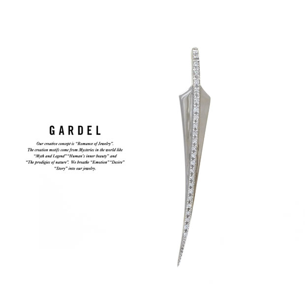 GARDEL GDP-117L FRAGRANCE FEATHER PENDANT