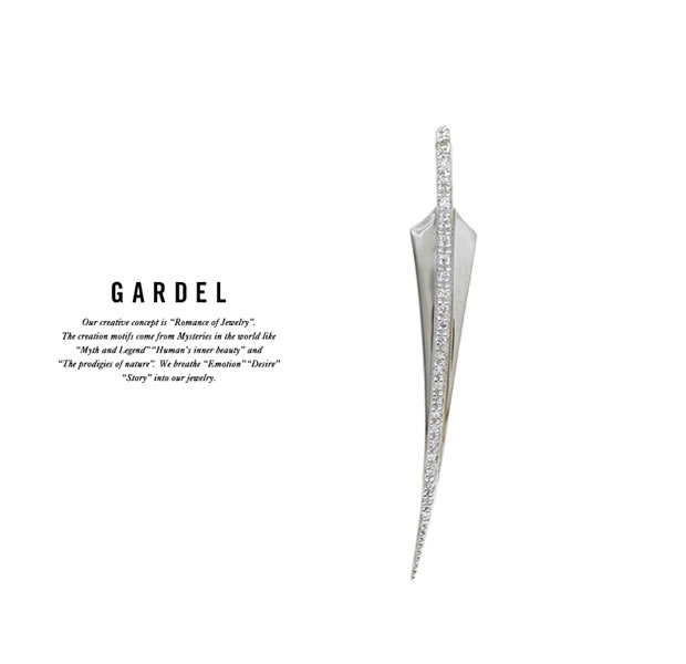 GARDEL GDP-117M FRAGRANCE FEATHER PENDANT