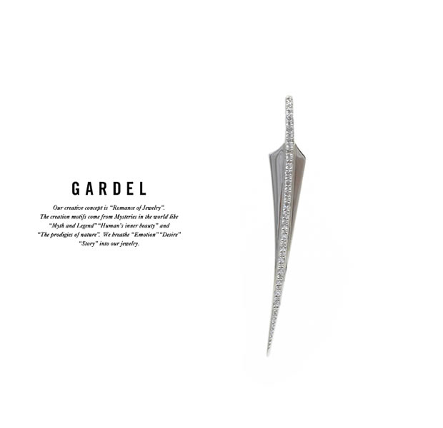 GARDEL GDP-117S FRAGRANCE FEATHER PENDANT