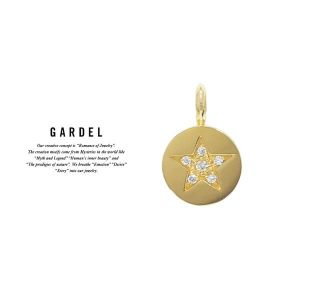 GARDEL GDP-121/K18YG SHINY STAR PENDANT