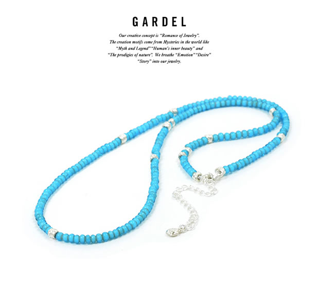GARDEL GDP-123/TUQ WHITE HEARTS NECKLACE