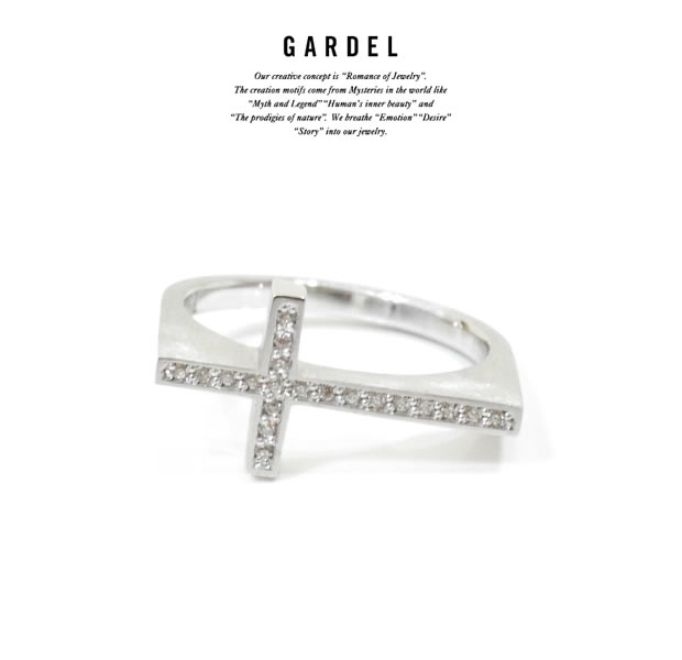 GARDEL GDR-080 MINUIT CROSS RING