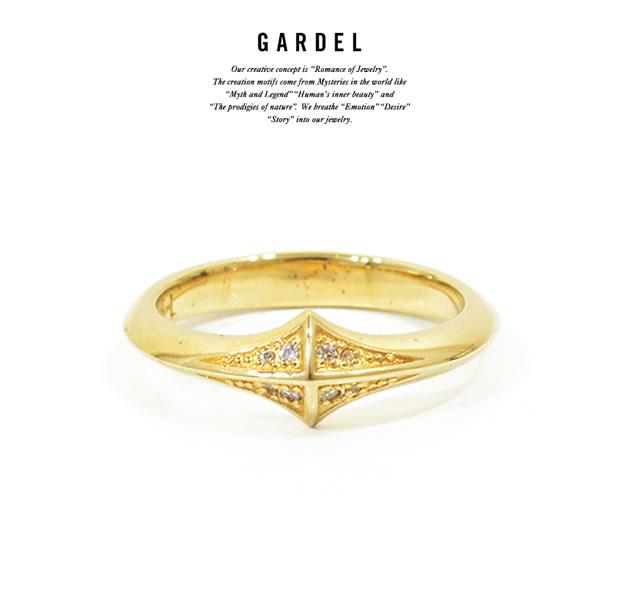 GARDEL GDR-081/K23GP TRINITY STUDS RING