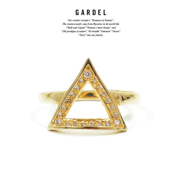GARDEL GDR-085/K18YG CRAFFITI RING