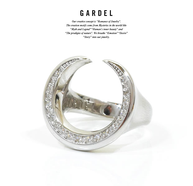 GARDEL GDR-088 MOONLIGHT HORSESHOE RING