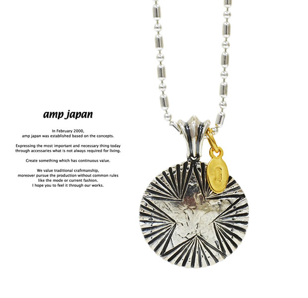 amp japan 15AH-125 Starlight Necklace -Native American-