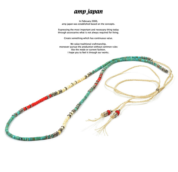 amp japan 15AHK-130 Native Pattern Necklace -Naboho-