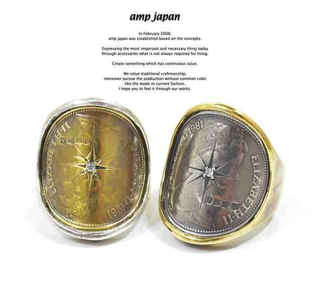 amp japan 15AO-250 Elizabeth Coin With Diamond Ring