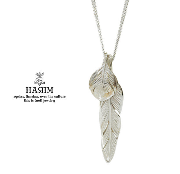 HARIM HRP104 WH Slender feathers Very shine/WH