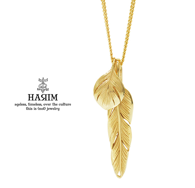 HARIM HRP104 GP Slender feathers Very shine/GP