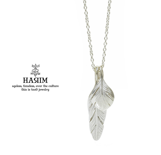 HARIM HRP105 WH Slender feathers Half Very shine/WH