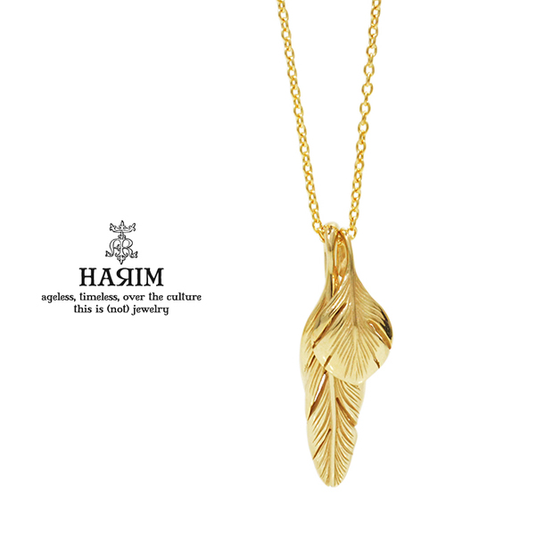HARIM HRP105 GP Slender feathers Half Very shine/GP