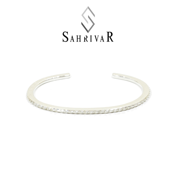 SAHRIVAR SB42S15A STUDS THIN BANGLE