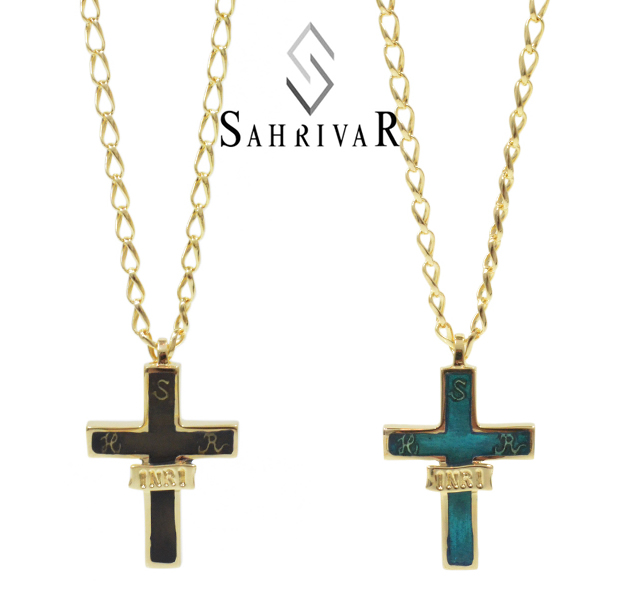 SAHRIVAR SN92B15A INRI NECKLACE