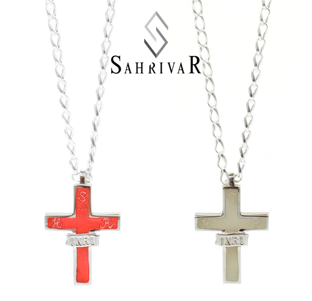 SAHRIVAR SN90S15A INRI NECKLACE