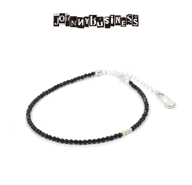 JOHNNY BUISINESS JB01S16S Basic Black Bracelet