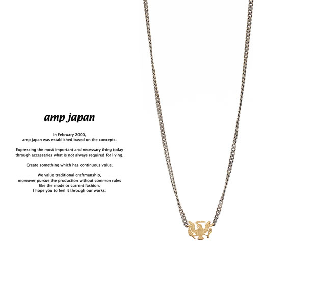 amp japan  11ah-809 eagle necklace