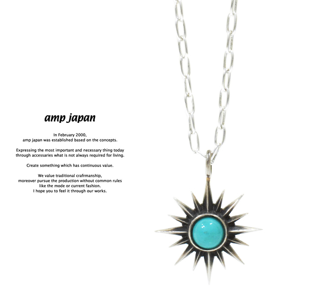 amp japan 16AC-120 SunnyTurquoise Necklace