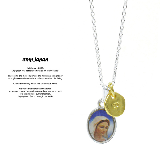 amp japan 16AHK-131 Medaille Miraculeuse Necklace -Mix-