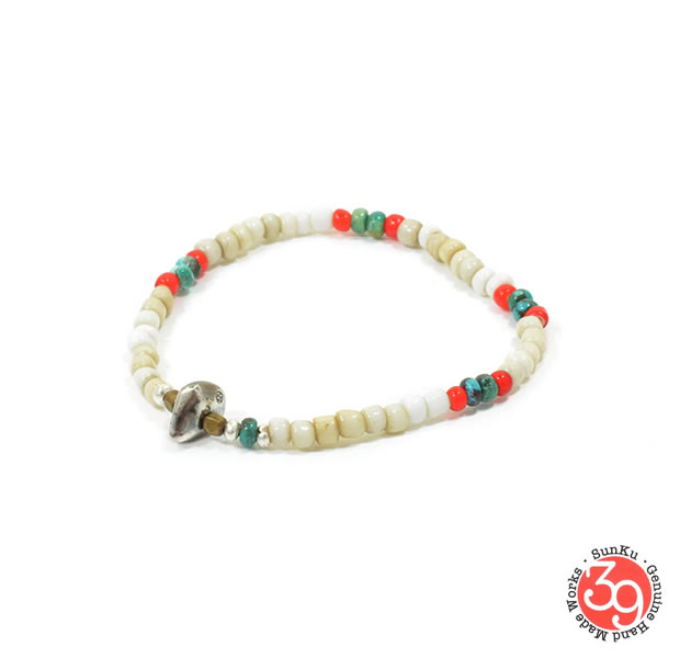 Sunku SK-147 Antique Beads Mix 1 Roll Bracelet