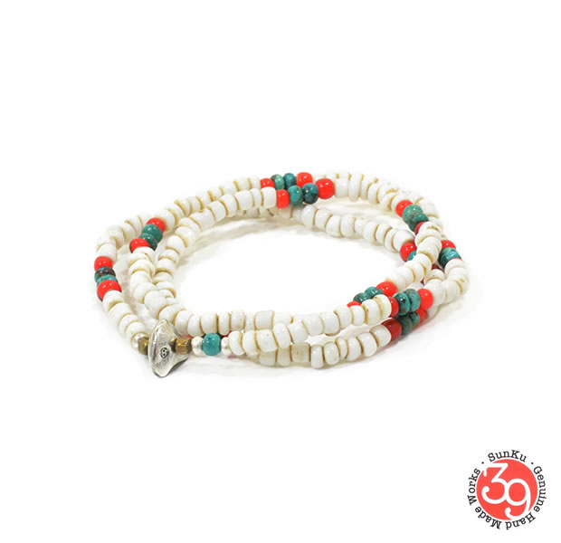 Sunku SK-148 Antique Beads Mix 3 Roll Necklace&Bracelet
