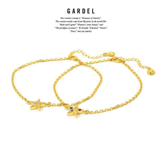 GARDEL GDB-090 Trico Star Anklet GP