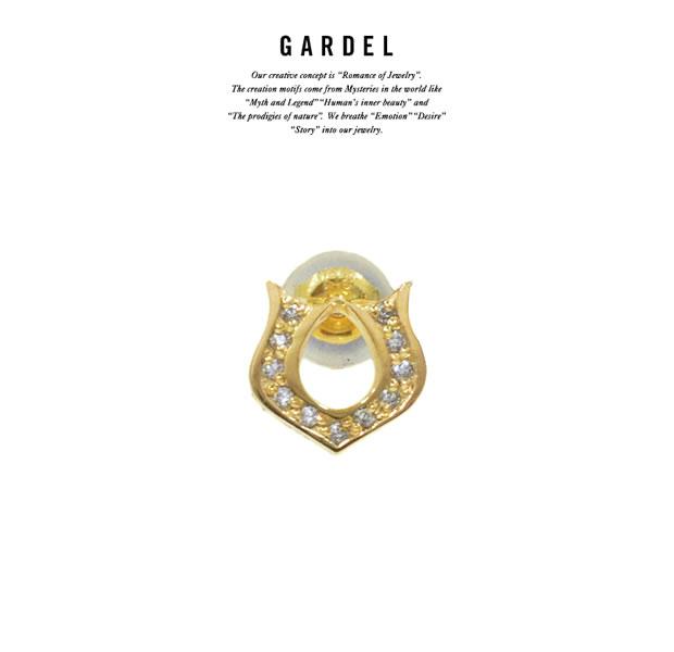 GARDEL GDE-054 K18YG Classic Horseshoe Pierce