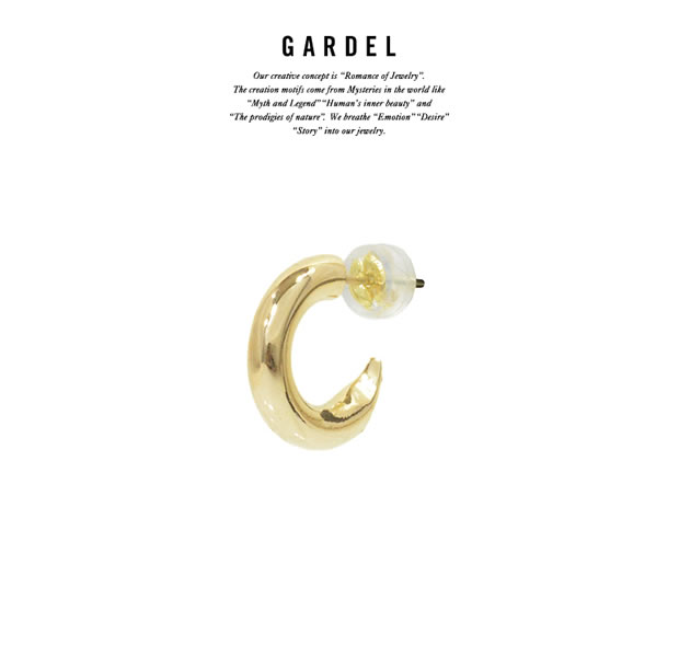 GARDEL GDE-055 K18YG Courage Pierce
