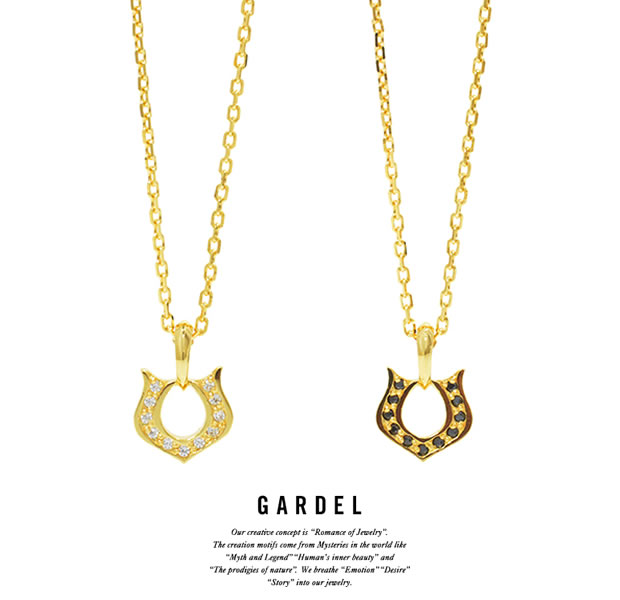 GARDEL GDP-124 K18YG Classic Horseshoe Necklace