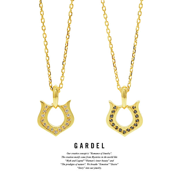 GARDEL GDP-125 K18YG Classic Horseshoe Necklace (M)