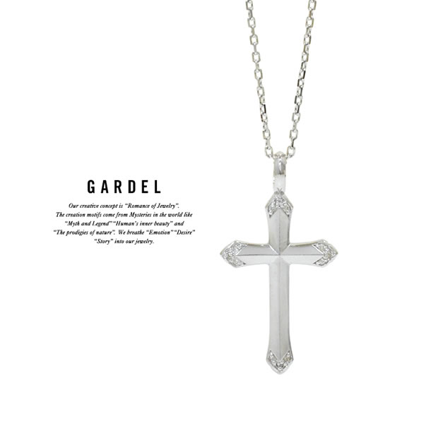 GARDEL GDP-126 Emotional Cross Necklace