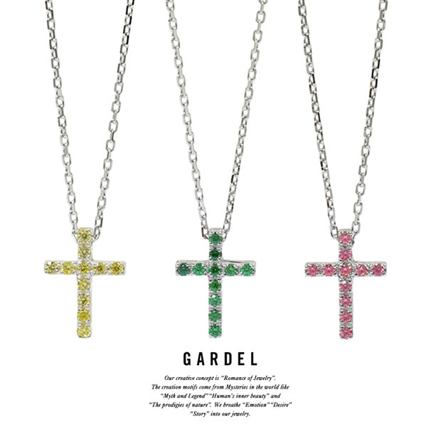 GARDEL GDP-146 P.O.P Cross Necklace S