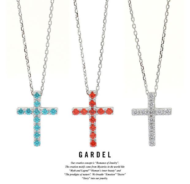 GARDEL GDP-147 P.O.P Cross Necklace L