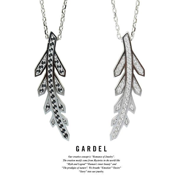 GARDEL GDP-138 TO,ME,Collection Feather Necklace