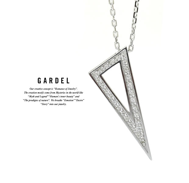 GARDEL GDP-141 TO,ME,Collection Triangle Necklace
